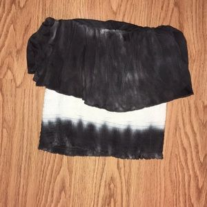 Eyeshadow XS tube top. From The Buckle